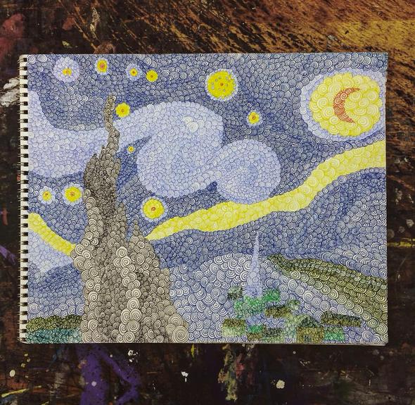 Starry Spirals