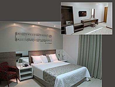 Apartamento Luxo no Accordes Hotel em Porto Velho