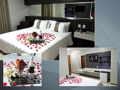 Suíte Conforto no Accordes Hotel em Porto Velho