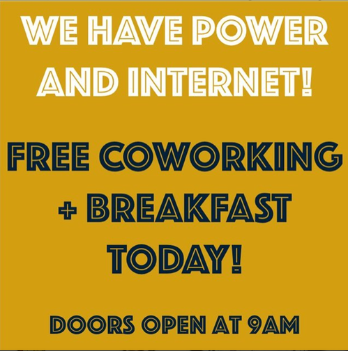 Free Coworking Insta