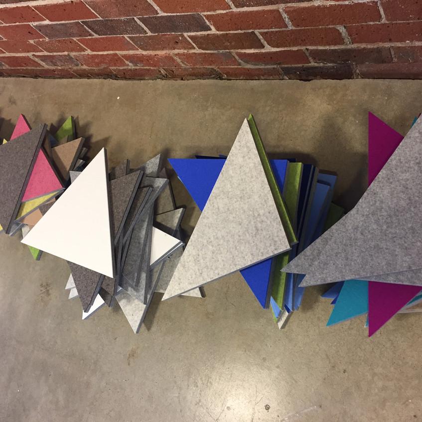 Felt Triangles