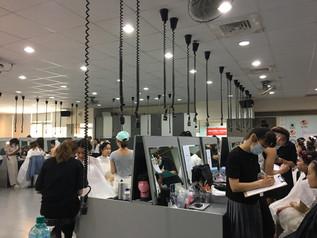 狂賀!!!!樹德科技大學流行設計系學生通過英國美容工會彩妝2級!!!