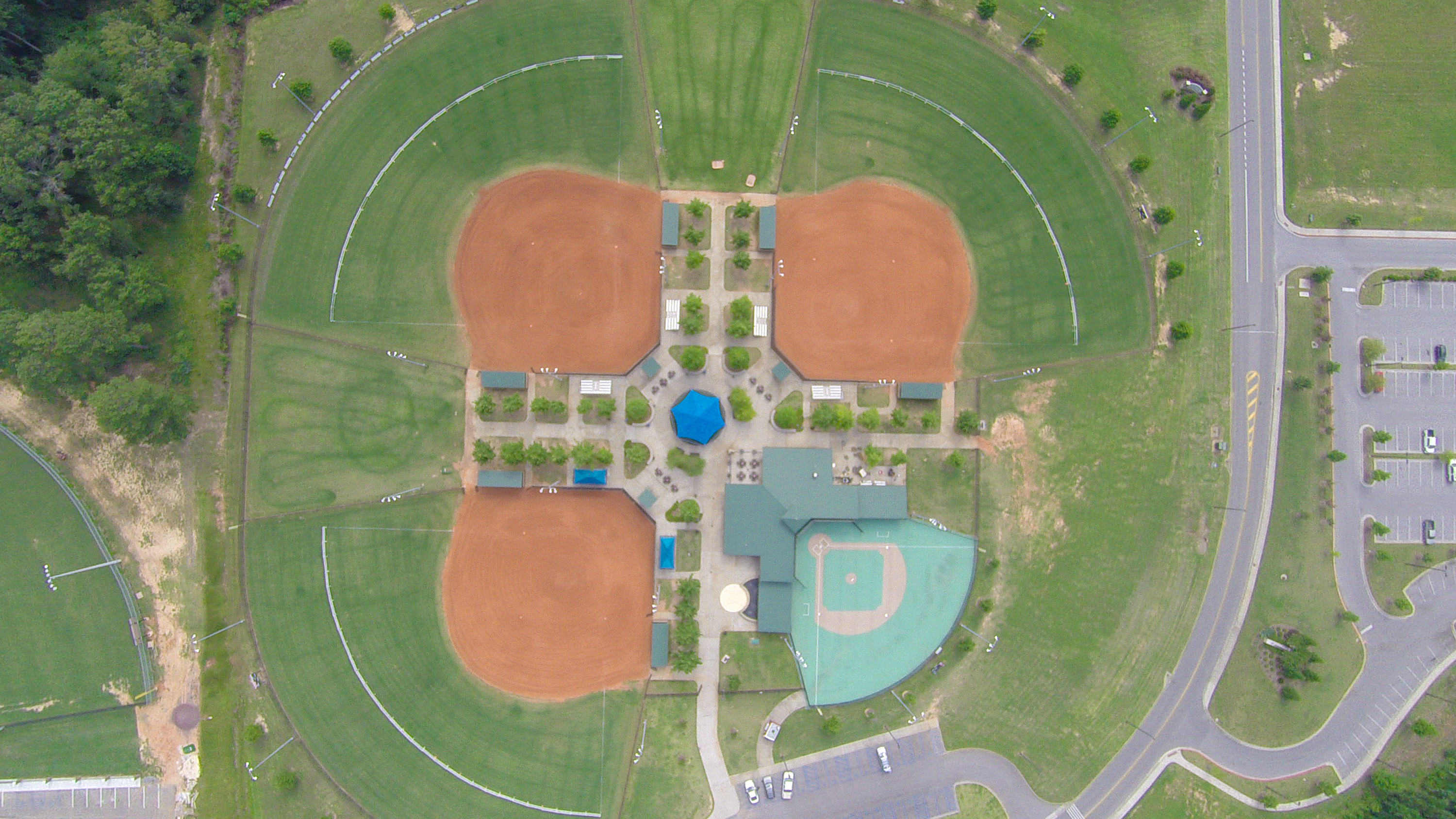 Miracle Field Aerial
