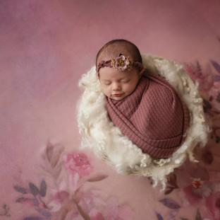 Girly Newborn Studio Photographer Texarkana, Texas