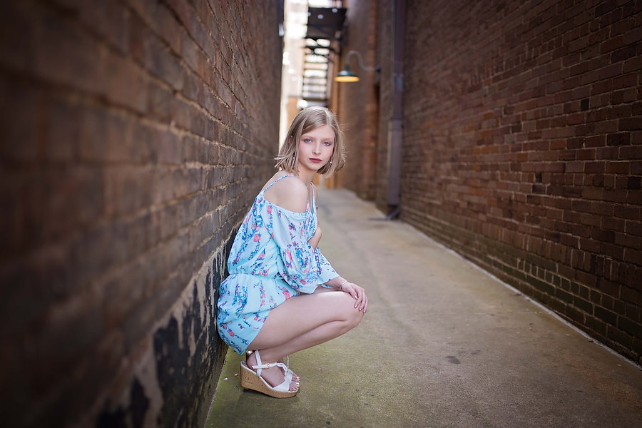 Historic Downtown Senior Portraits Texarkana, Texas