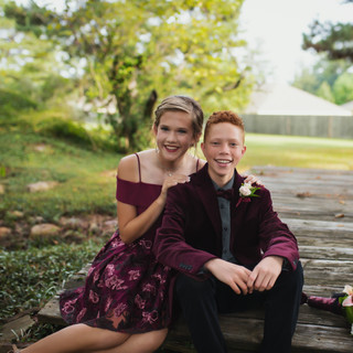 Outdoor Prom Photography Texarkana, Texas