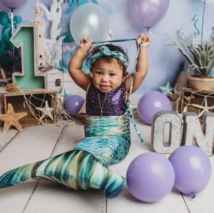 First Birthday Studio Photography Texarkana, Texas