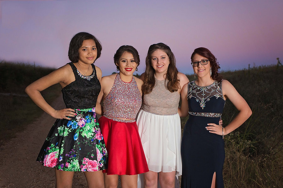 Outdoor Homecoming Portraits Texarkana, Texas