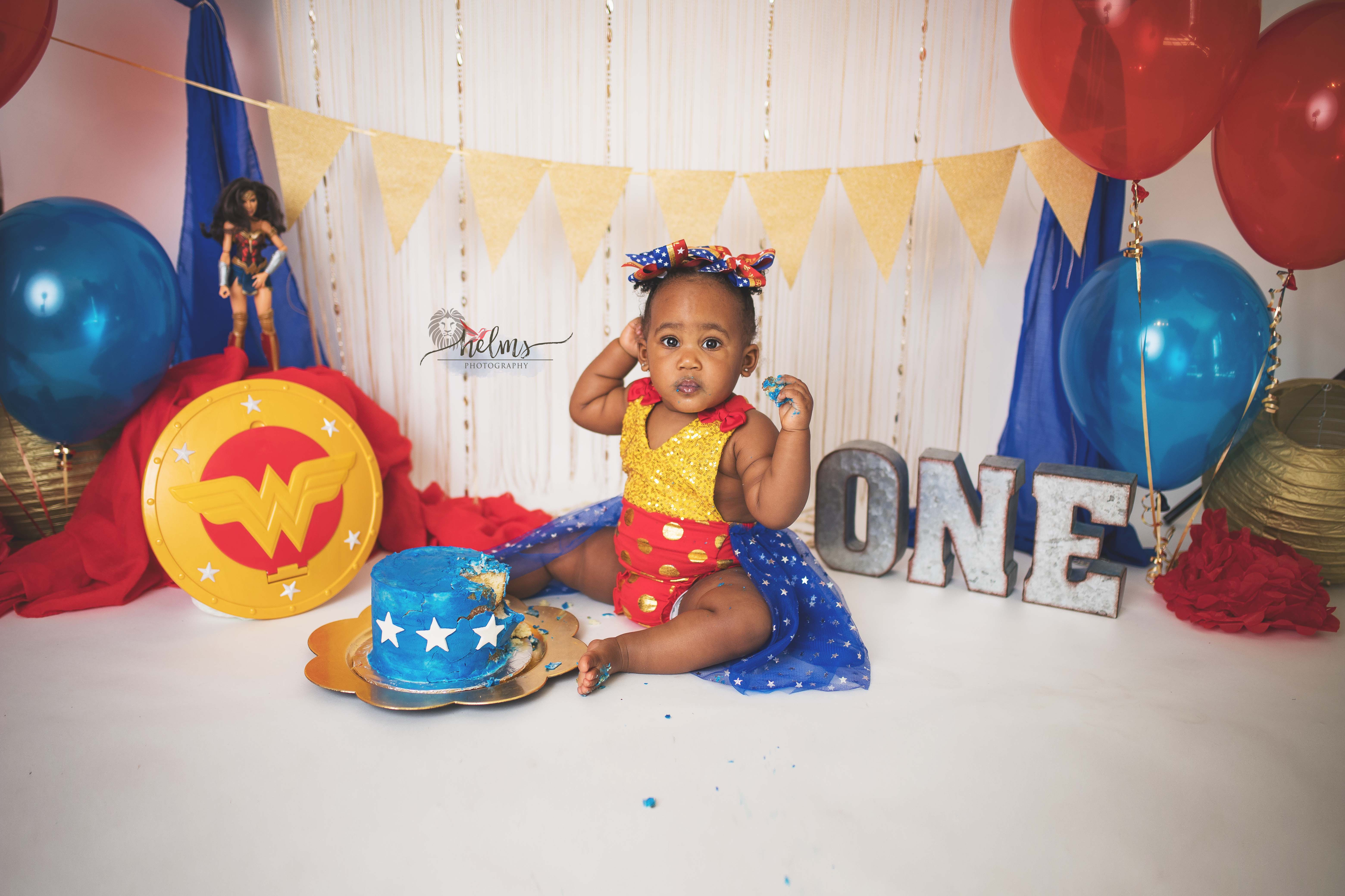 First Birthday Smash Cake Studio Photography Texarkana, Texas