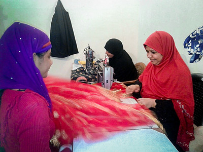 Zahra's shop brings women together