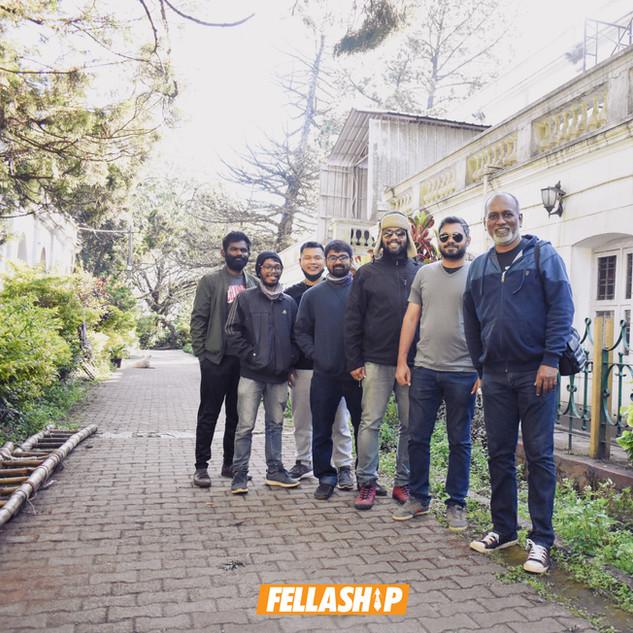 Men's Fellowship, Prayer Drive, Nandi Hills