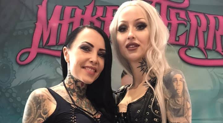 Makani Terror et Shelly Dinferno