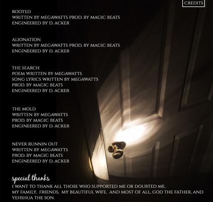 flashlight inside panel 3
