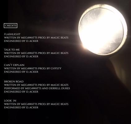 flashlight inside panel