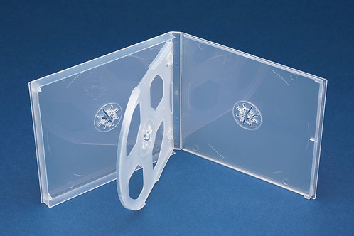 QUAD (4) PP Mailer Clear with plain overlay (G PPM4CD)