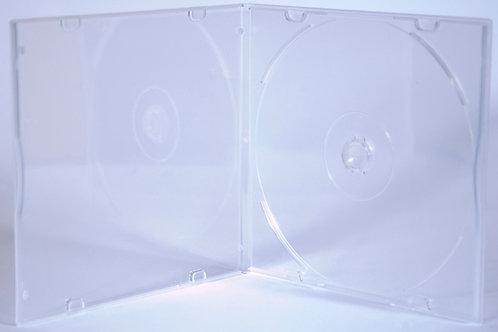 Slimline CD Mailer Clear, no overlay -- G PPSD5 SC