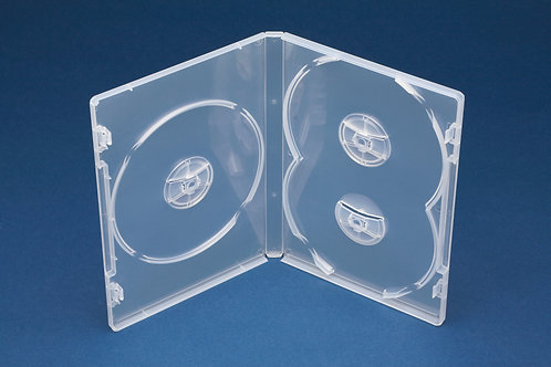 Triple DVD Box with Overlap (D3NC)