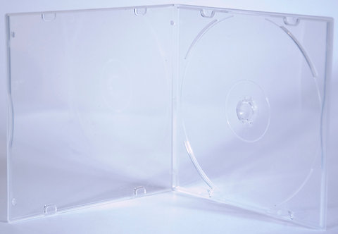 Slimline CD Mailer Clear, with plain overlay  -- G PPSD5 SC (PL)