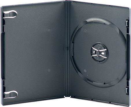 Single Disc DVD Case 14mm -  Black (D1NB)