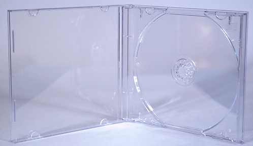 CD Jewel Case Sets (CD Jewel Case + Clear Tray)