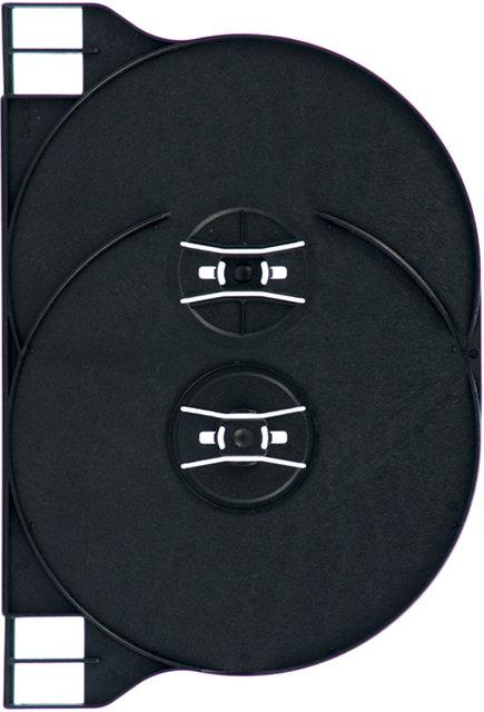 Double DVD Tray, Black (D2 TRAY BK)