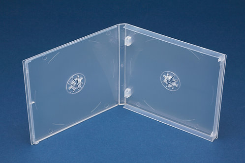Double PP Mailer Clear with plain overlay  (G PPM2CD)