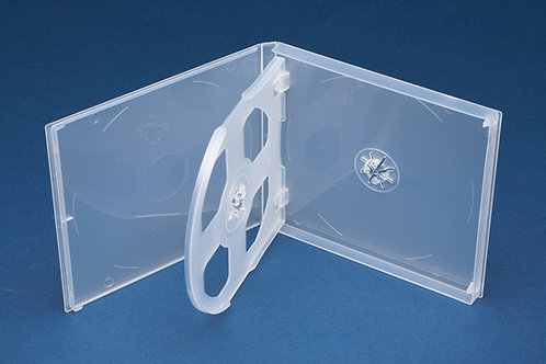 Triple PP Mailer Clear with plain overlay (G PPM3CD)