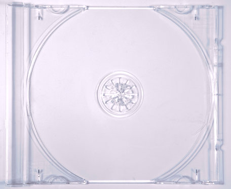CD Tray, Clear