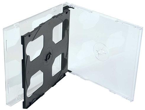 3 Disc Jewel CD Box Black (G 3CDS BK)