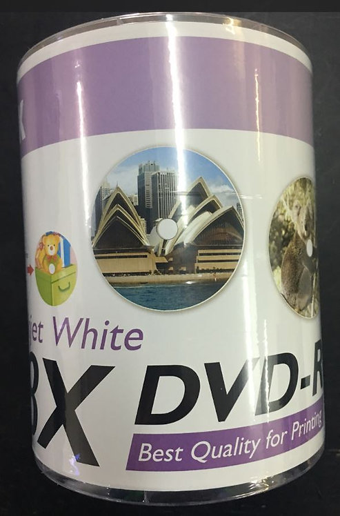 RITEK DVD-R / White Printable / 8X / 100pcs