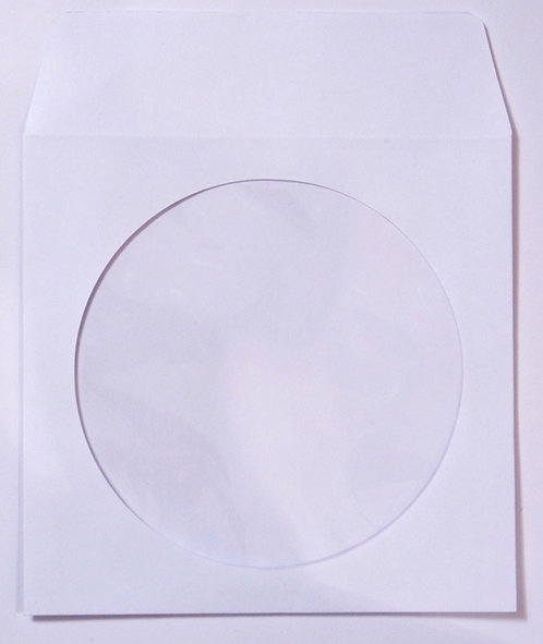 CD/DVD Paper Sleeve with windows (G PAPER K)