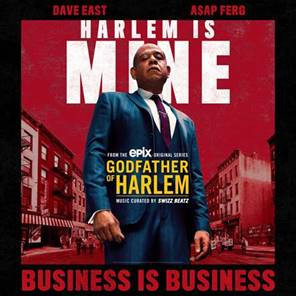 godfather of harlem, forest whitaker, dave east, asap ferg, dmx, swizz beatz, rick ross, dmx, music video