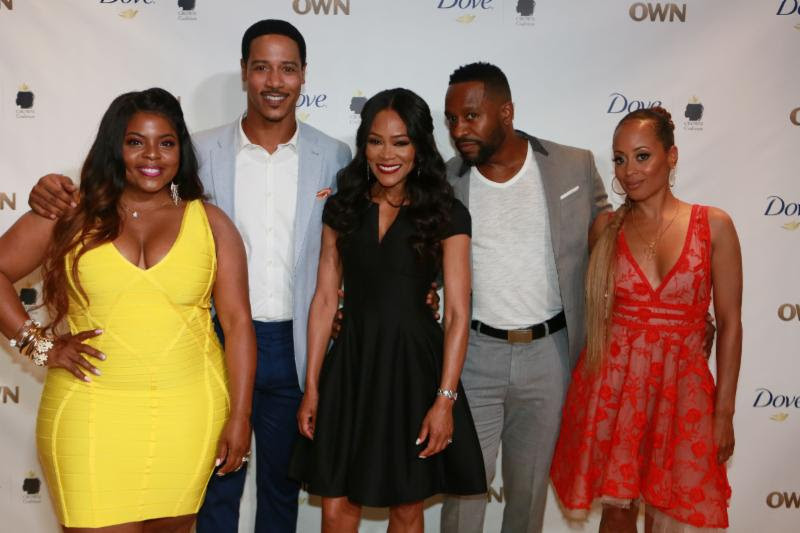 ambitions, Brely Evans, Brian White, Robin Givens, Kendrick Cross and Essence Atkins