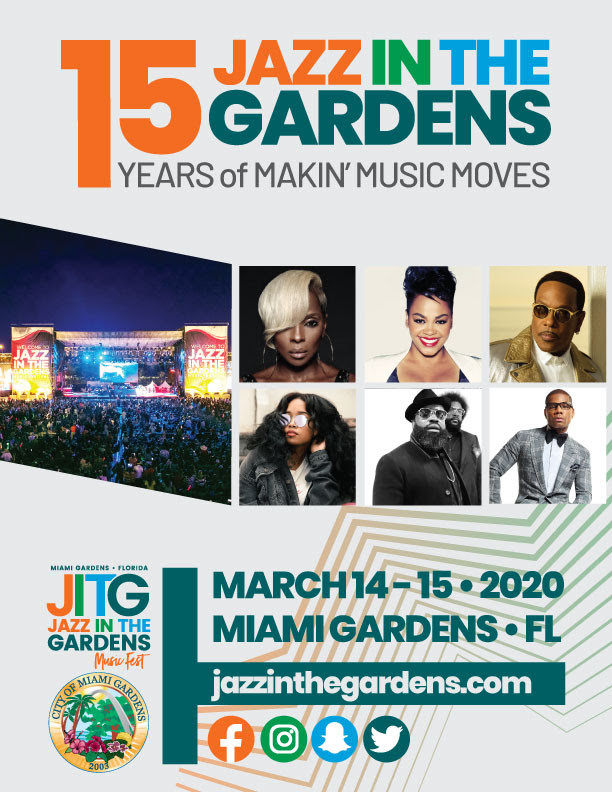 A New Decade of Jazz in the Gardens Feat. Mary J. Blige and Many More......