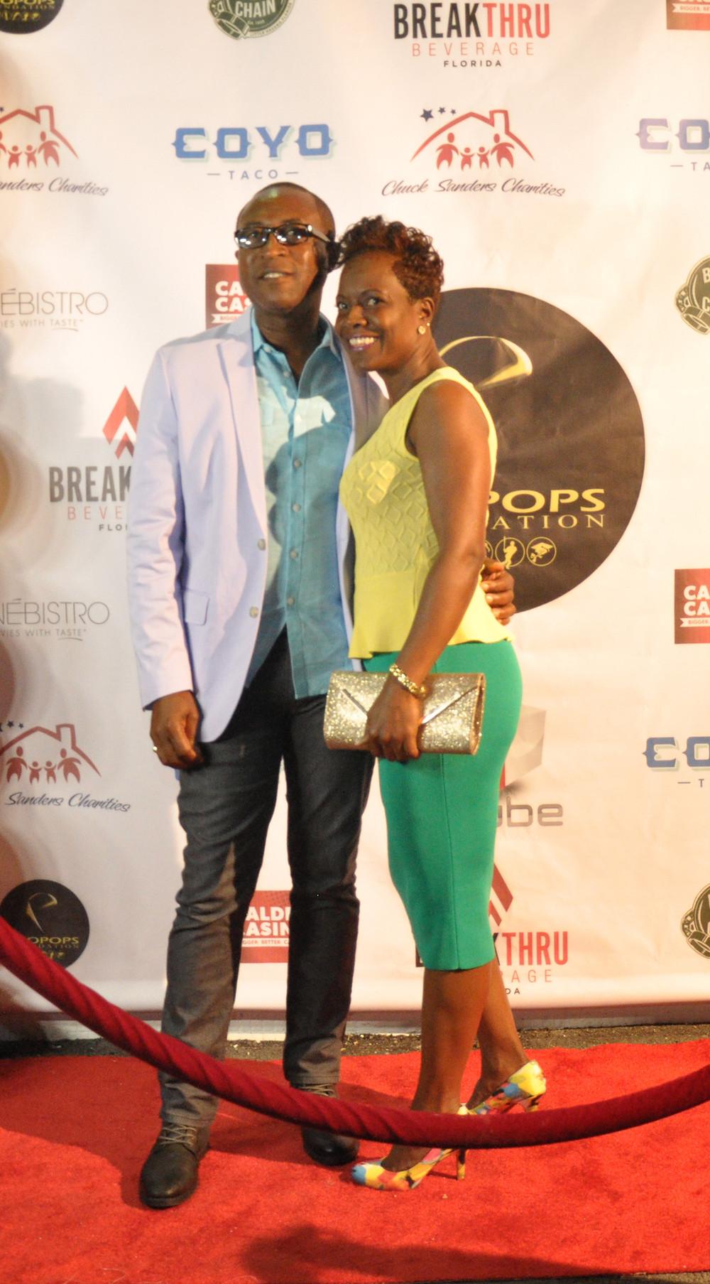 celebrity news, dwyane wade sr., 1st annual propops foundation