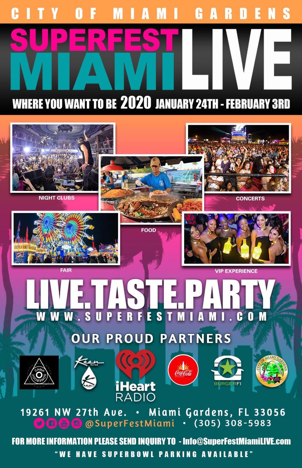 SuperFest Miami LIVE Enlists Chris Brown, Cardi B, Migos, Megan Thee Stallion & More