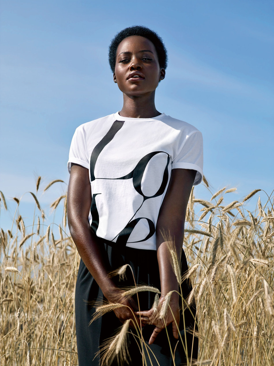 Lupita Nyong'o Joins Michael Kors To Watch Hunger Stop