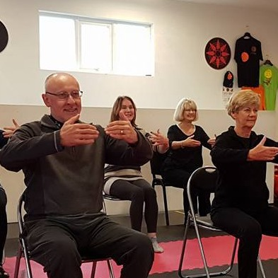 Seated meditation in rochford