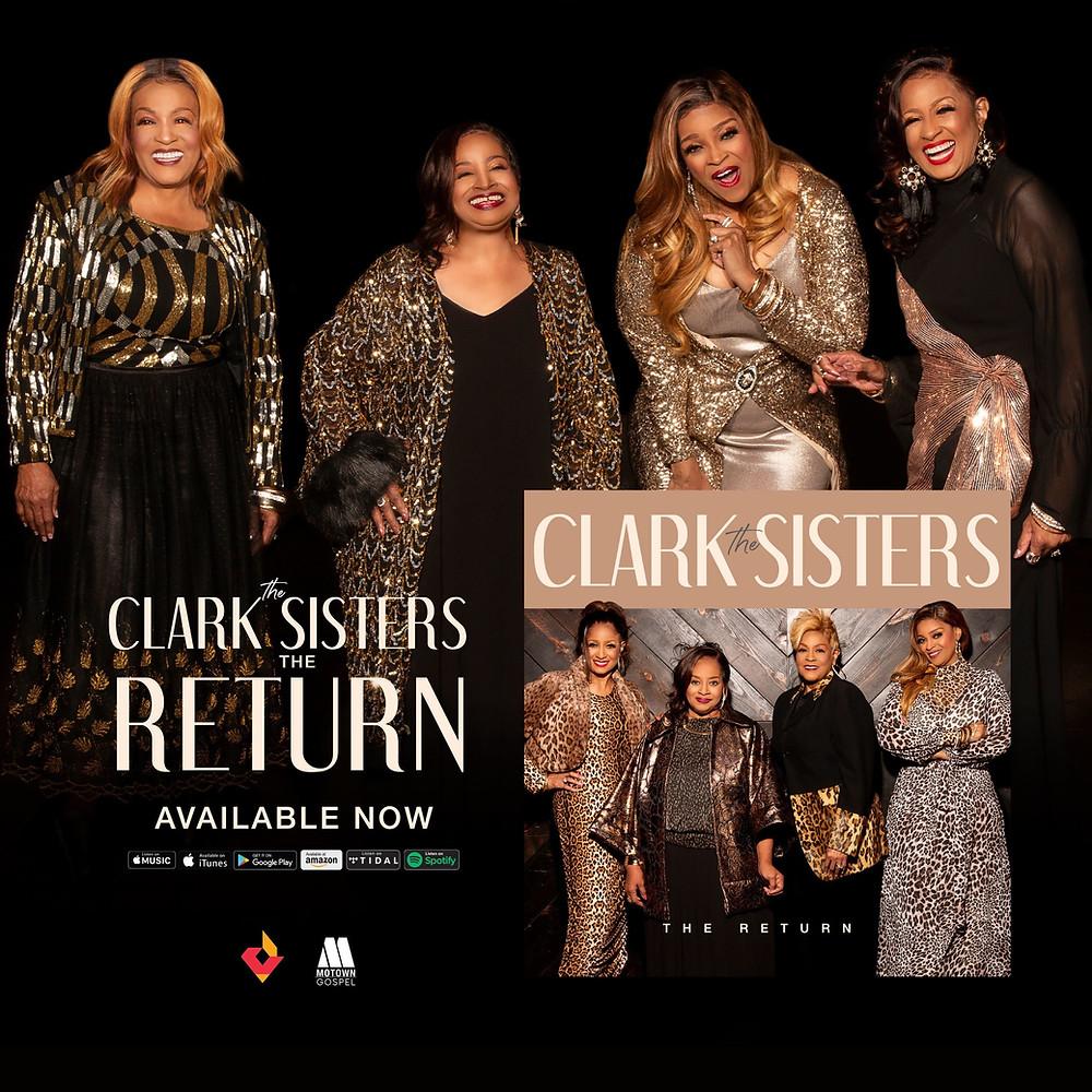 the clark sisters, gospel, gospel album,  the return, new album, new music, new gospel album