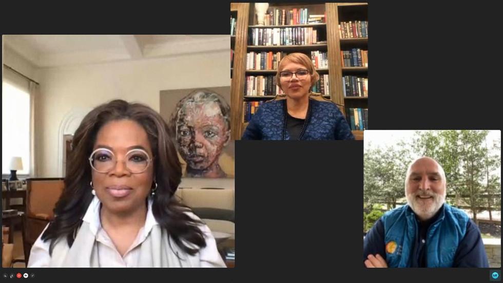 Oprah's Makes $10 Million COVID Donation