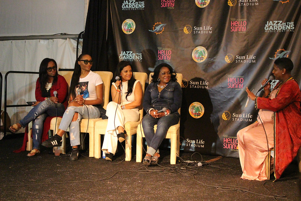 cynthia bailey, celebrity news, jazz in the gardens, womens impact conference and luncheon