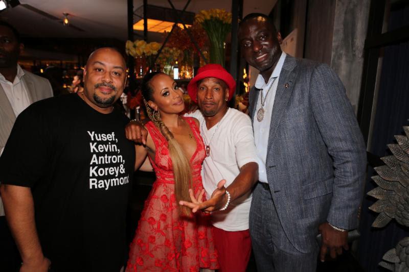 Raymond Santana, Korey Wise, Yusef Salaam, Essence Atkins
