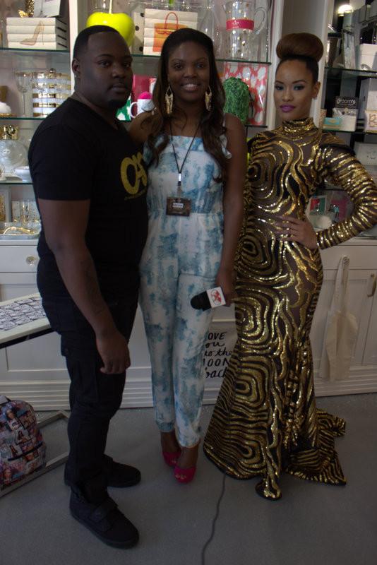 Angela IAM SOBE Weekend Miami Designer Showcase (Video)