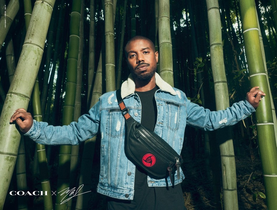michael b. jordan, limited edition, menswear, coach collaboration, actor, naruto