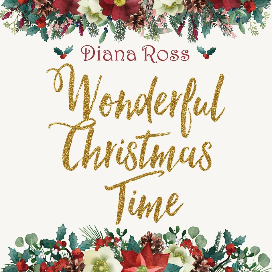 Diana Ross 'Wonderful Christmas Time' A 2LP Limited-Edition Translucent-Red Vinyl Set Availa