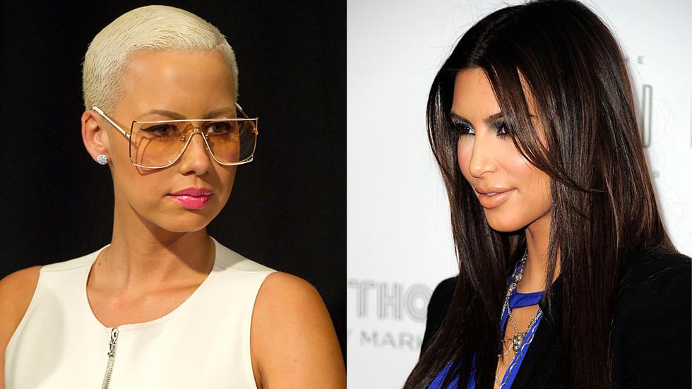 Amber Rose Backtracks on Friendship with Kim Kardashian
