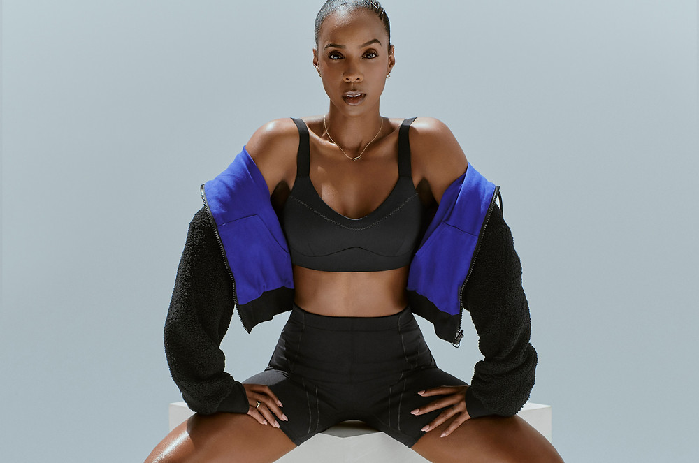 kelly rowland, fabletics, active wear, musician, actress, active wear collection