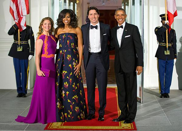 celebrity news, obama, michelle obama, justin trudeau, entertainment lifestyle