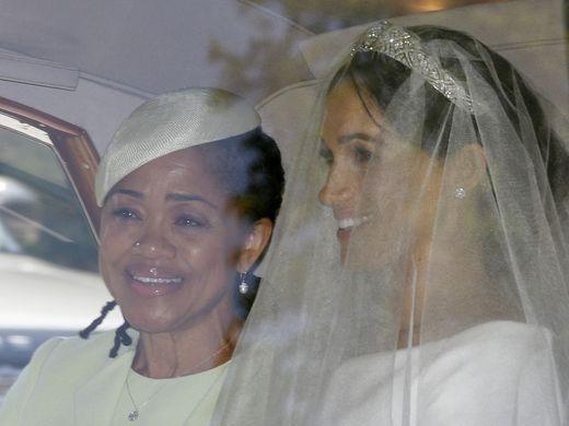 duchess of sussex, meghan markle, doria ragland, royal wedding, windsor palace
