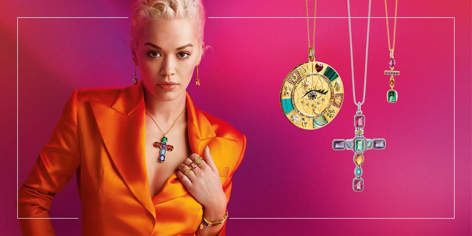 Rita Ora the Global Thomas Sabo Brand Ambassador for Autumn/Winter 2019